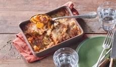 南仏野菜のグラタン(ズッキーニ、ナス、玉ネギ、赤黄パプリカ、トマト)