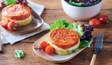 トマト、シェーブルチーズ、ズッキーニのフォンダン