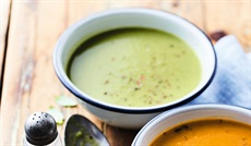 滑らかなBIO野菜のスープ