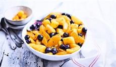 BIO フルーツサラダ(マンゴー、オレンジ、ブルーベリー )