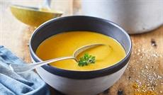 赤レンズ豆のスープ カレー風味