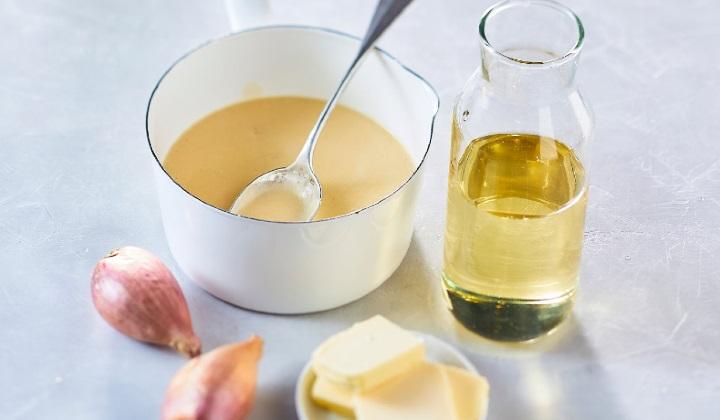 ヴェルモット酒風味のクリーミーバターソース(キューブタイプ)
