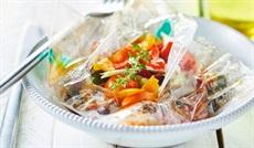 温野菜ミックス(ズッキーニ、ミニトマト、パプリカ)