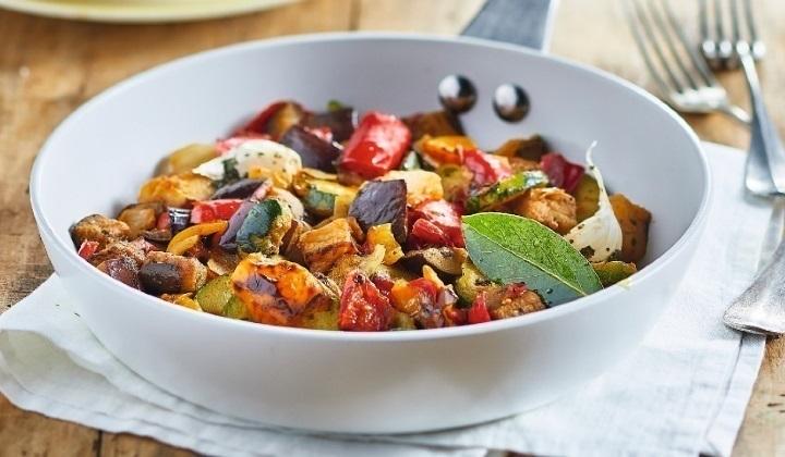 グリル野菜ミックス(ズッキーニ、ナス、パプリカ、玉ネギ、600g)