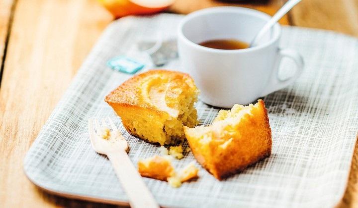 りんごのミニパウンドケーキ