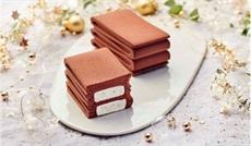 チョコレートとメレンゲのミニビュッシュ