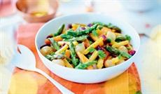 炒め用野菜(カボチャ、にんじん、アスパラガス、小玉ネギ)
