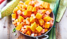 BIO スープ用野菜ミックス(かぼちゃ・サツマイモ・ニンジン・玉ネギ)