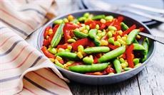 温野菜ミックス(スナップエンドウ・コーン・パプリカ・枝豆)