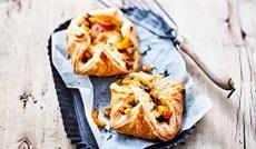 モッツアレラチーズと野菜のパニエ