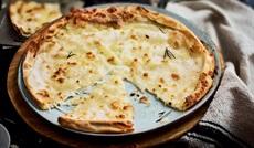 チーズのフォカッチャ