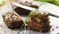 牛肉のマリネ エシャロット風味