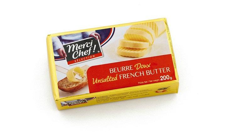 冷凍バター(食塩不使用)