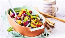 5種類のBIO野菜ミックス(ズッキーニ、トマト、オニオン、黒オリーブ)