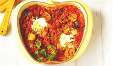 ラタトゥイユ入り牛肉のトマト煮