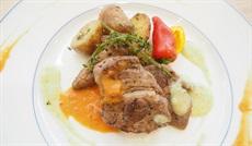 ニュージーランド産ラム肉のステーキ 2種のソース