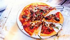 グリル野菜のピッツァ
