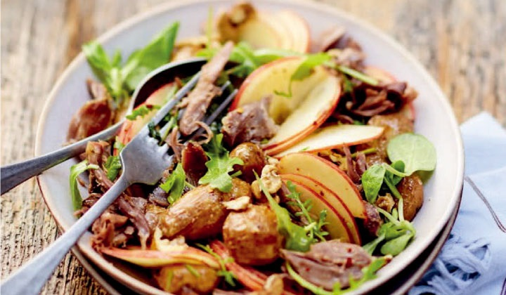 鴨肉のコンフィのサラダ